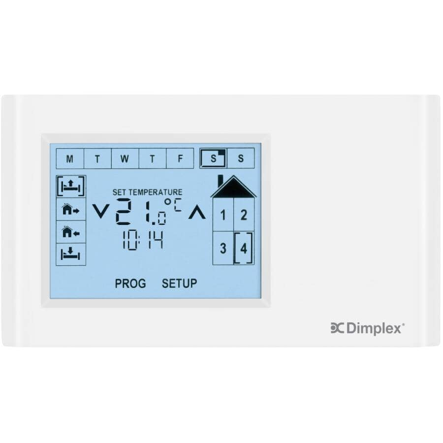 DIMPLEX:CONNEX Multi-Zone Programmable Thermostat - With 7 Day Scheduling