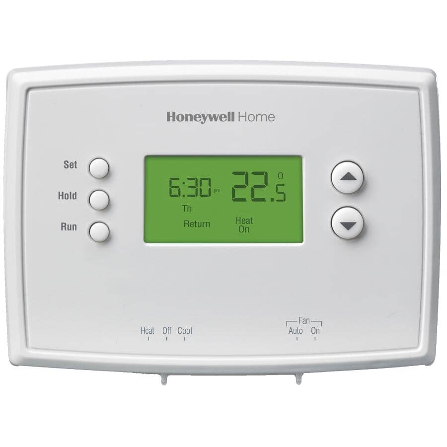 HONEYWELL HOME:Programmable Thermostat - With 5-1-1 Day Scheduling