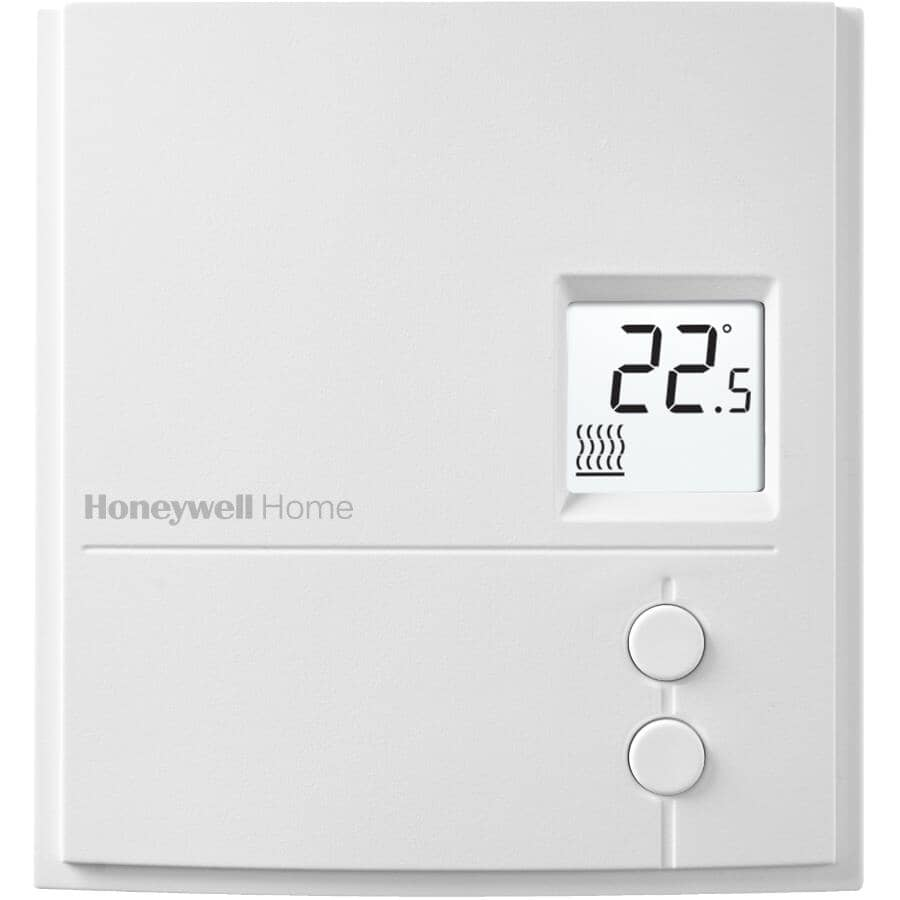 HONEYWELL HOME:Digital Manual Line Voltage Baseboard Thermostat