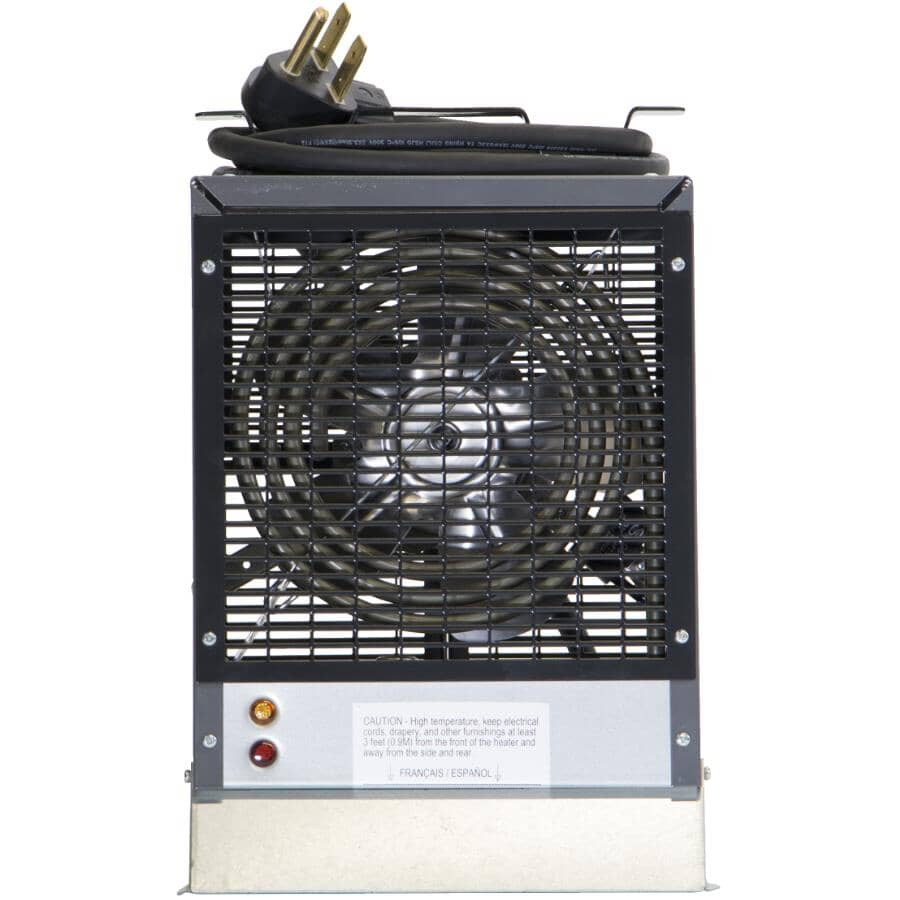 DIMPLEX:Construction Heater - with Enclosed Motor, 240V, 4800W
