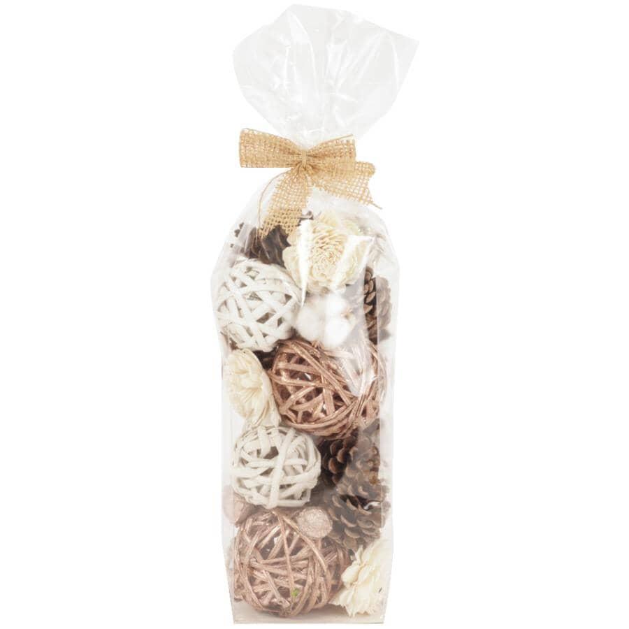 SECOND NATURE DESIGNS:Miniature Bag of Bowl Filler - Whispering Rose