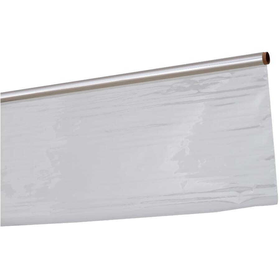 DESIGNS PLUS:Rouleau de papier d'emballage cellophane transparent de 30 po x 60 po pour panier-cadeau