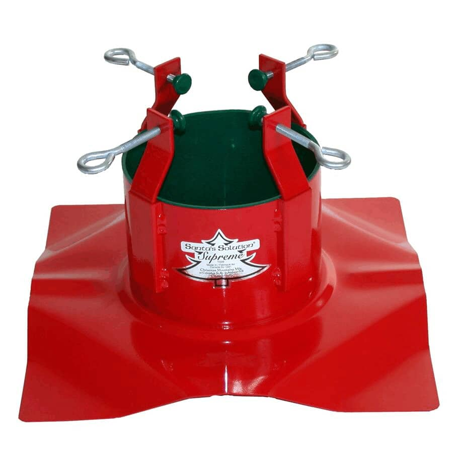 SANTA'S SOLUTION:Metal Tree Stand - for 11' Trees