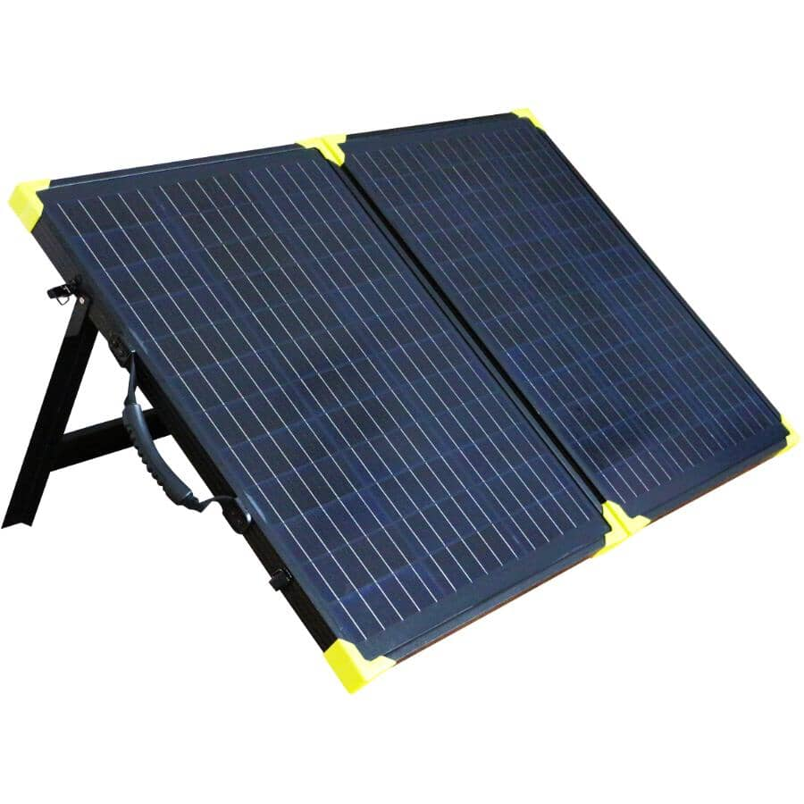 REACTOR:Briefcase Crystalline Solar Panel Kit - 100W