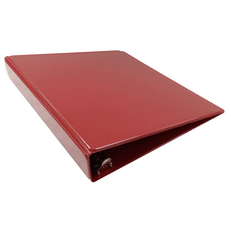 "GENERIC:Vinyl Ring Binder - Red, 1.5"""