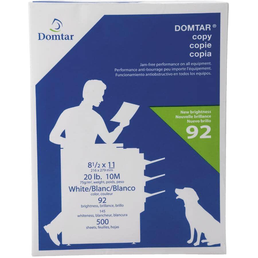 "DOMTAR:Printer Copy Paper - 8.5"" x 11"", 500 Sheets"
