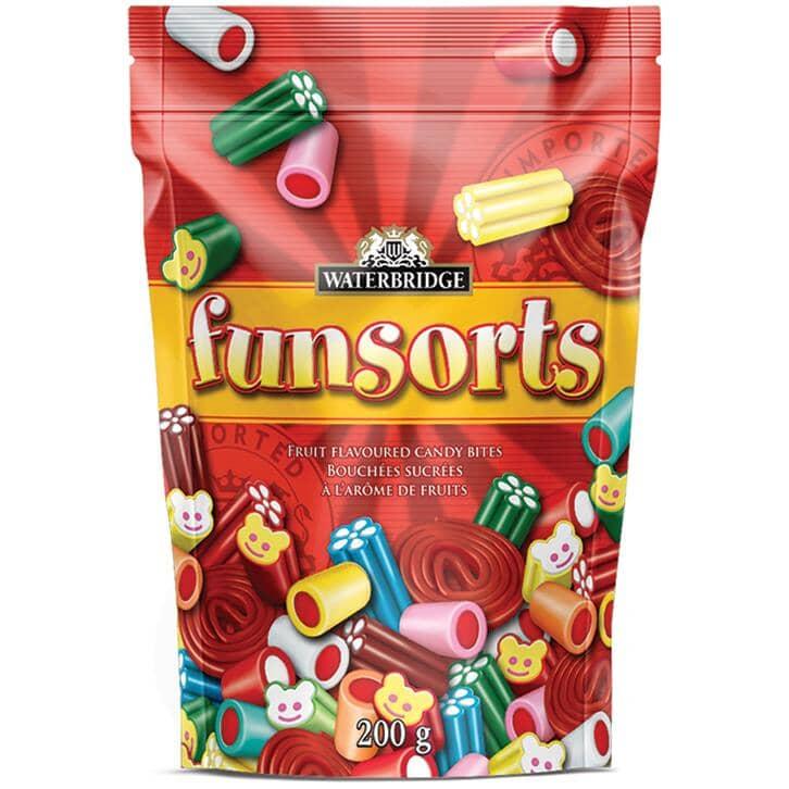 WATERBRIDGE:Funsorts Red Licorice Candy - 200 g