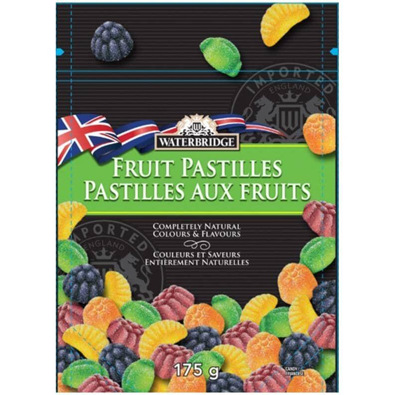 WATERBRIDGE:Fruit Pastilles Candy - 200 g