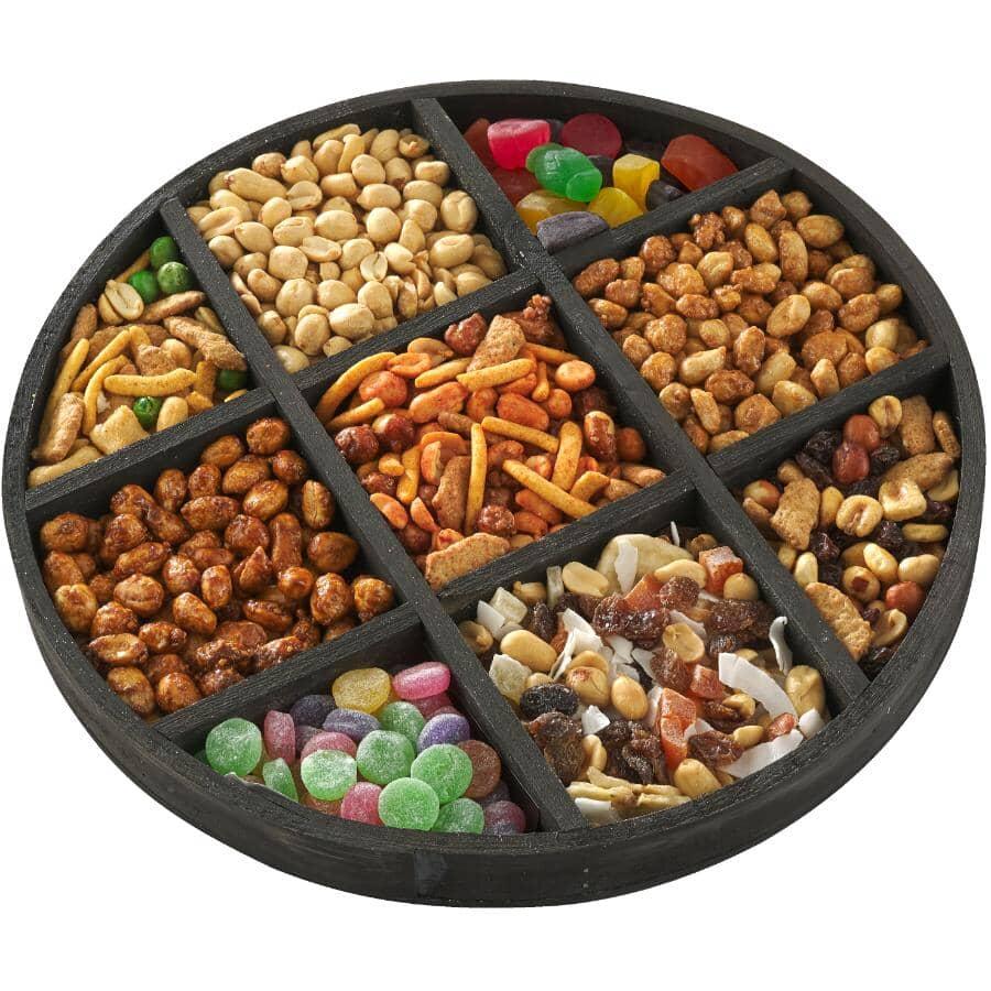 DAVID ROBERTS:Assorted Snacks 9 Pocket Gift Tray - 750 g