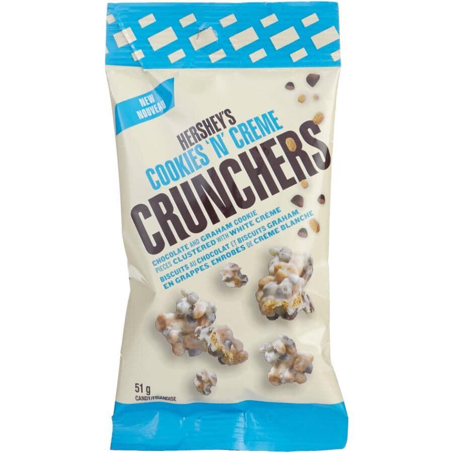 HERSHEY:Cookies N' Creme Crunchers Chocolates - 51 g