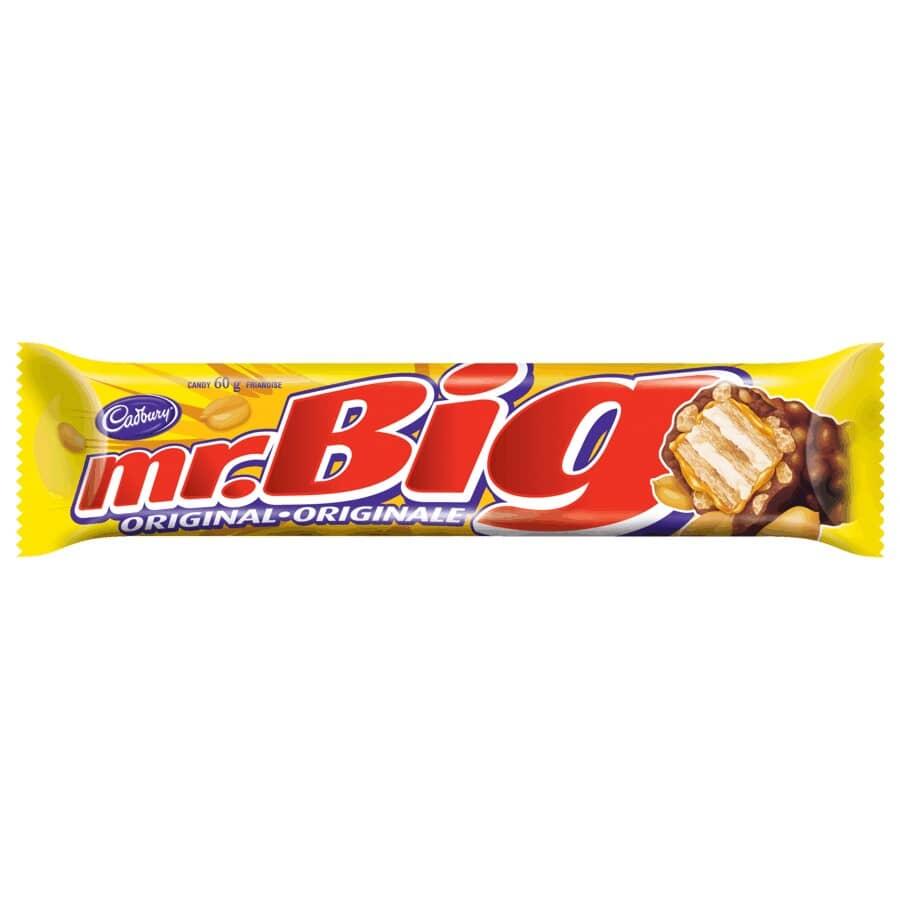 CADBURY:Mr. Big Chocolate Bar - 60 g