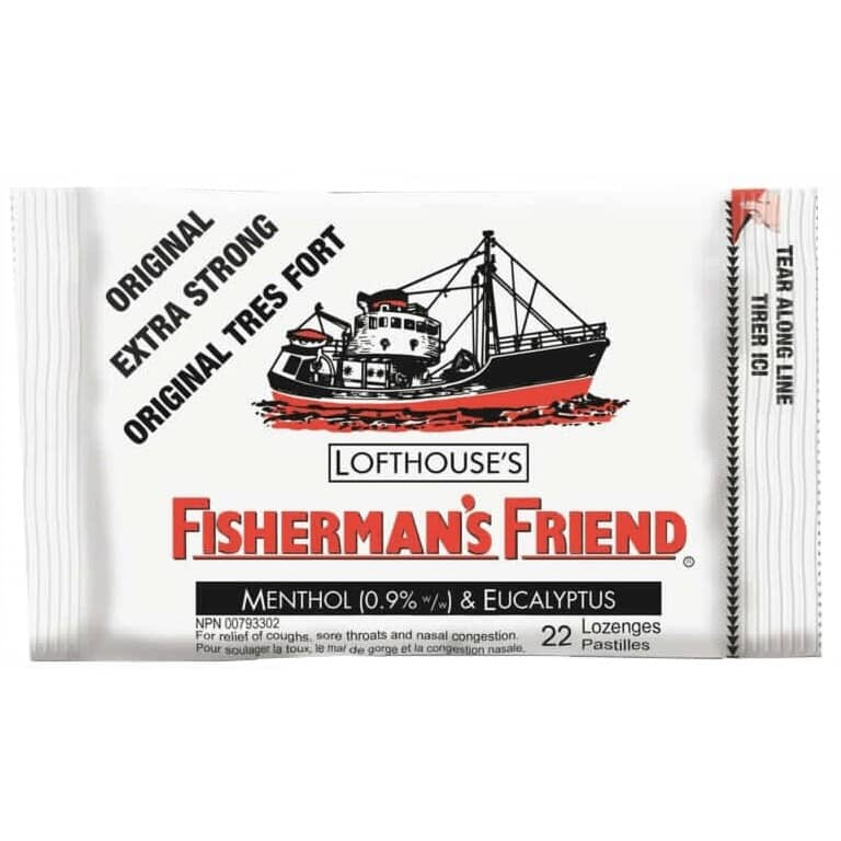 FISHERMAN'S FRIEND:Extra Strong Cough Drops - Original, 22 Pieces
