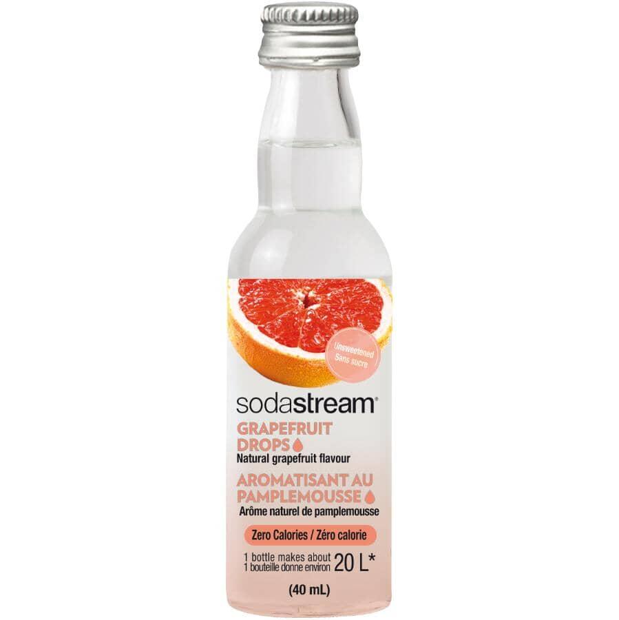 SODASTREAM:40mL Fruit Drops Grapefruit Syrup