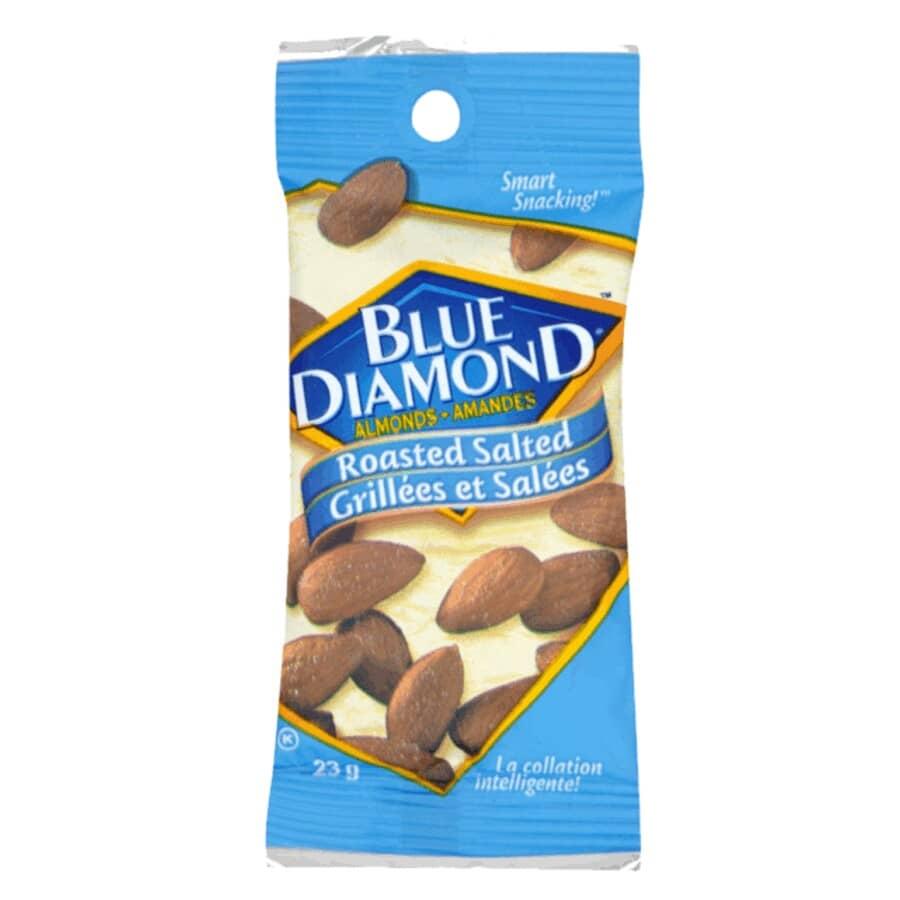 BLUE DIAMOND:Roasted Salted Almonds - 23 g