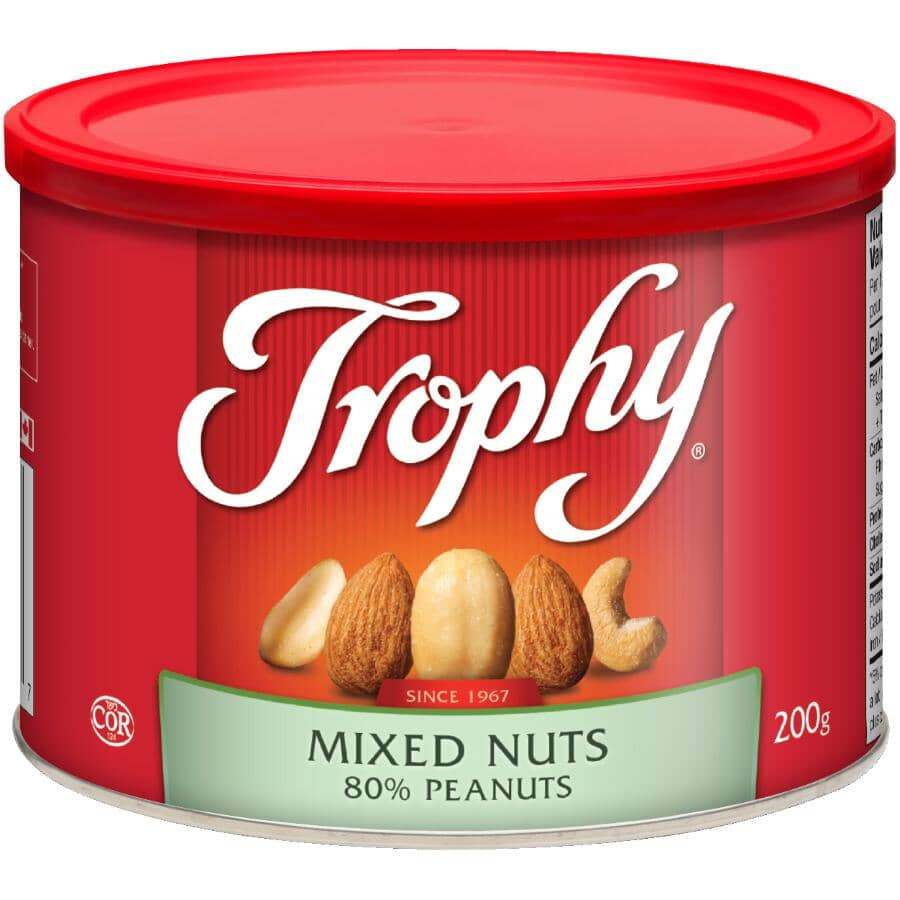 TROPHY:Mixed Nuts - with 80% Peanuts, 200 g
