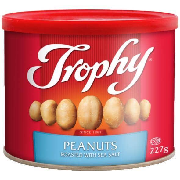 TROPHY:Peanuts - Roasted with Sea Salt, 227 g