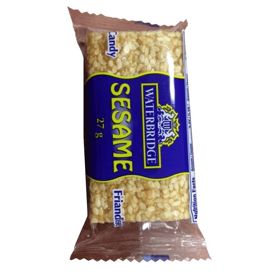 WATERBRIDGE:Sesame Seed Snack - 27 g