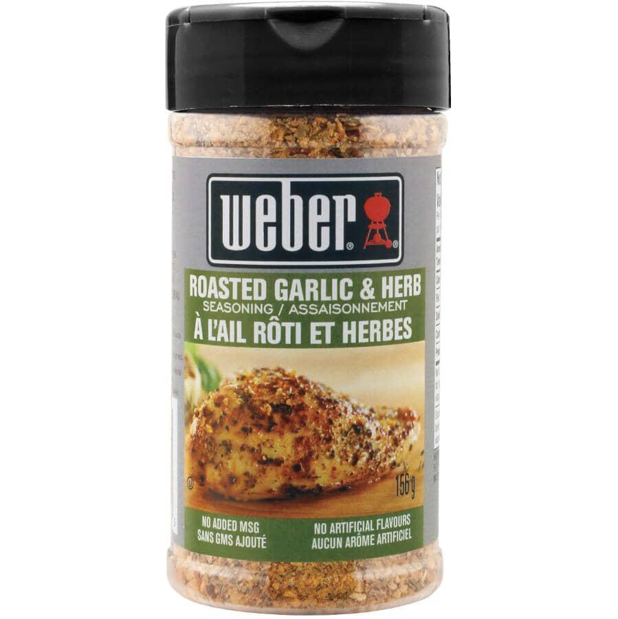 WEBER:Roasted Garlic & Herb Seasoning - 156 g