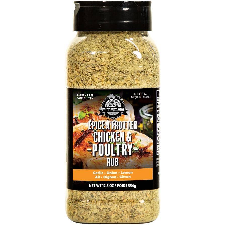 PIT BOSS:Chicken & Poultry BBQ Seasoning Rub - 355 g