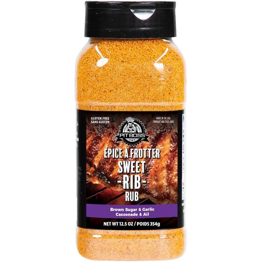 PIT BOSS:Sweet Rib BBQ Seasoning Rub - 354 g