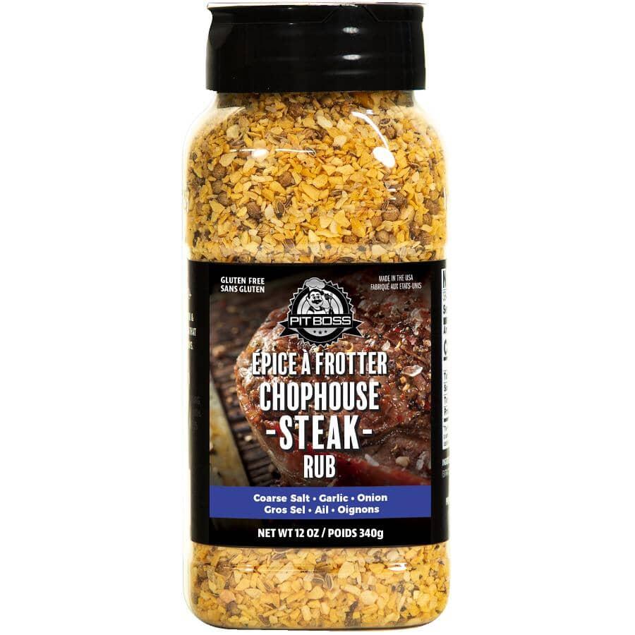 PIT BOSS:Chophouse Steak BBQ Seasoning Rub - 340 g