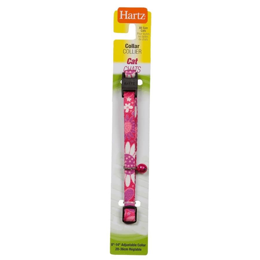 "HARTZ:Safety Nylon Cat Collar - Assorted Colours, 8"" - 14"""