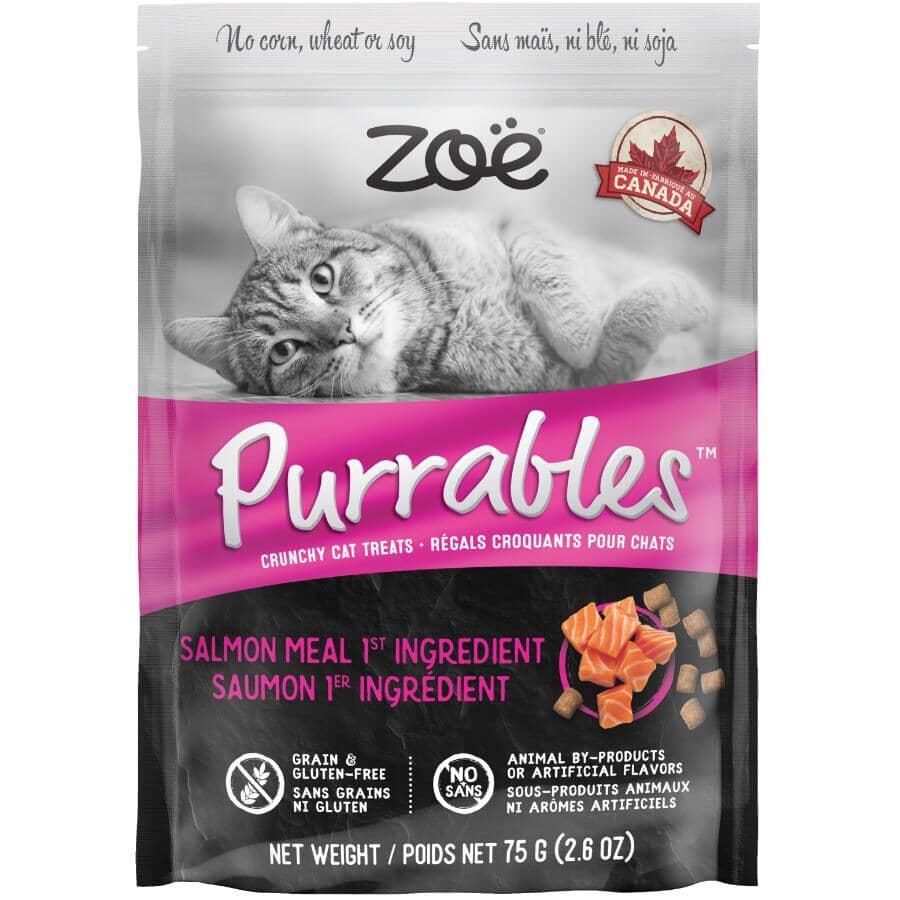 ZOE:Purrables Crunchy Cat Treats - Salmon, 75 g