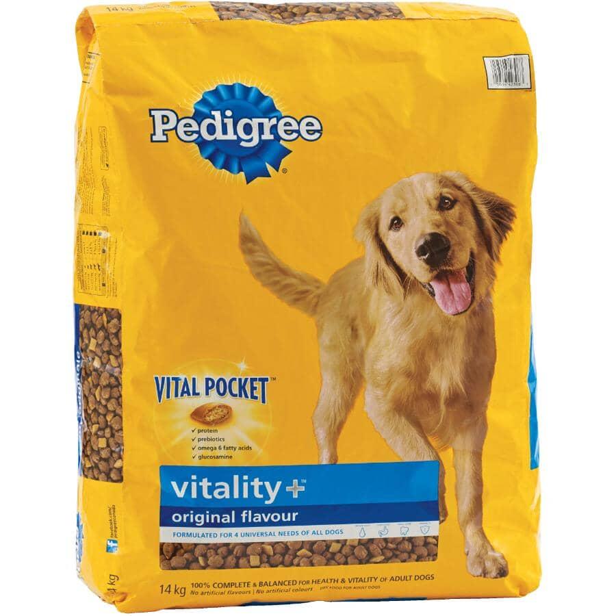 PEDIGREE:Vitality Plus Dry Dog Food - Original Flavour, 14 kg