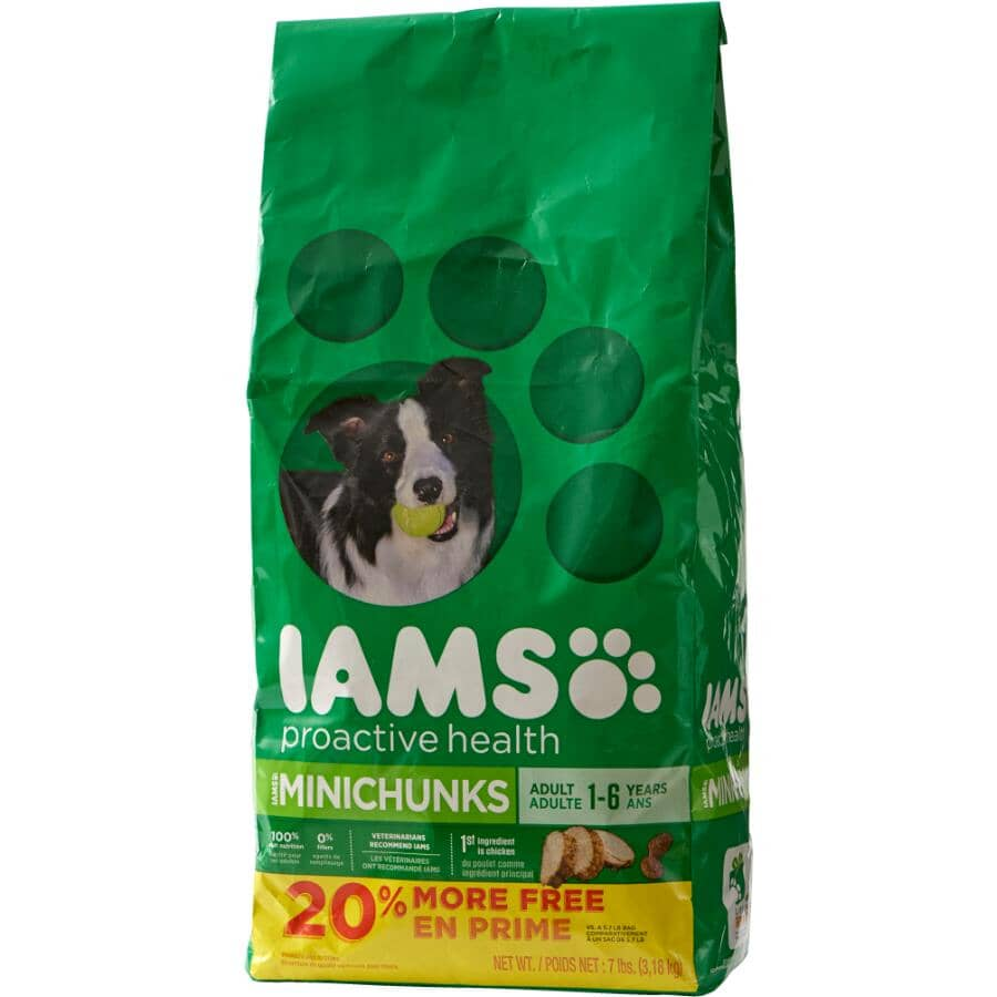IAMS:Proactive Health Minichunks Dry Dog Food - 3.18 kg