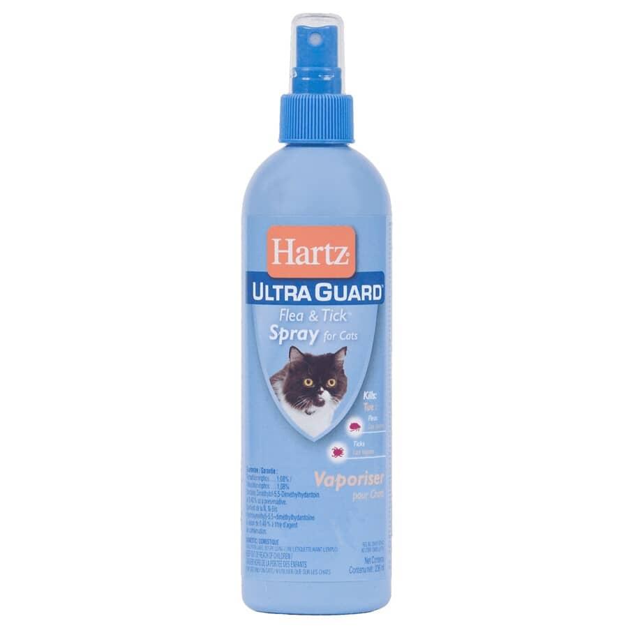 HARTZ:Vaporisateur anti-puces et tiques pour chat, 296 mL