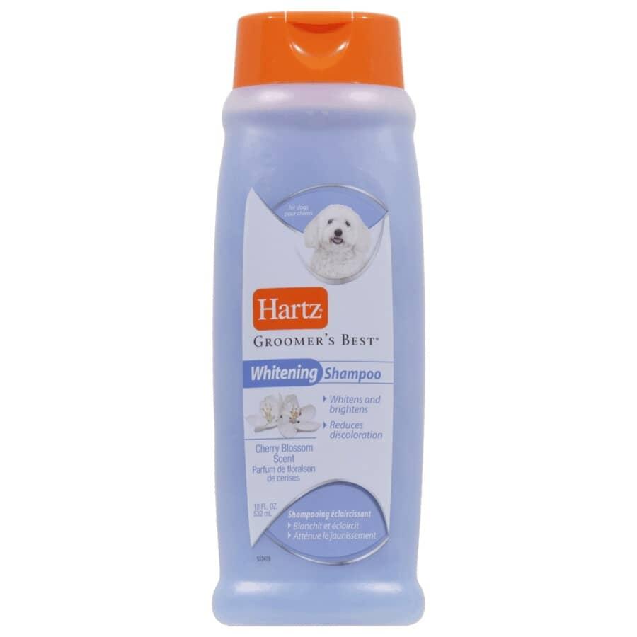 HARTZ:Shampooing éclaircissant Groomer's Best pour chiens, 532 ml
