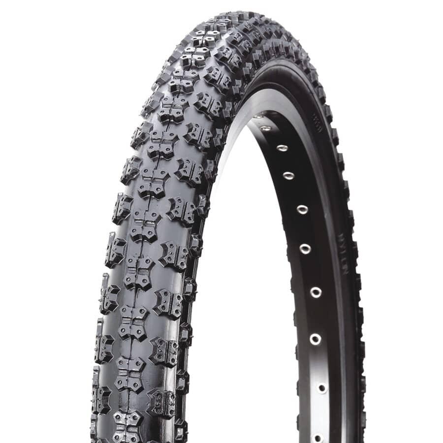 """DAMCO:20"""" x 1.75"""" Black BMX Bike Tire"""