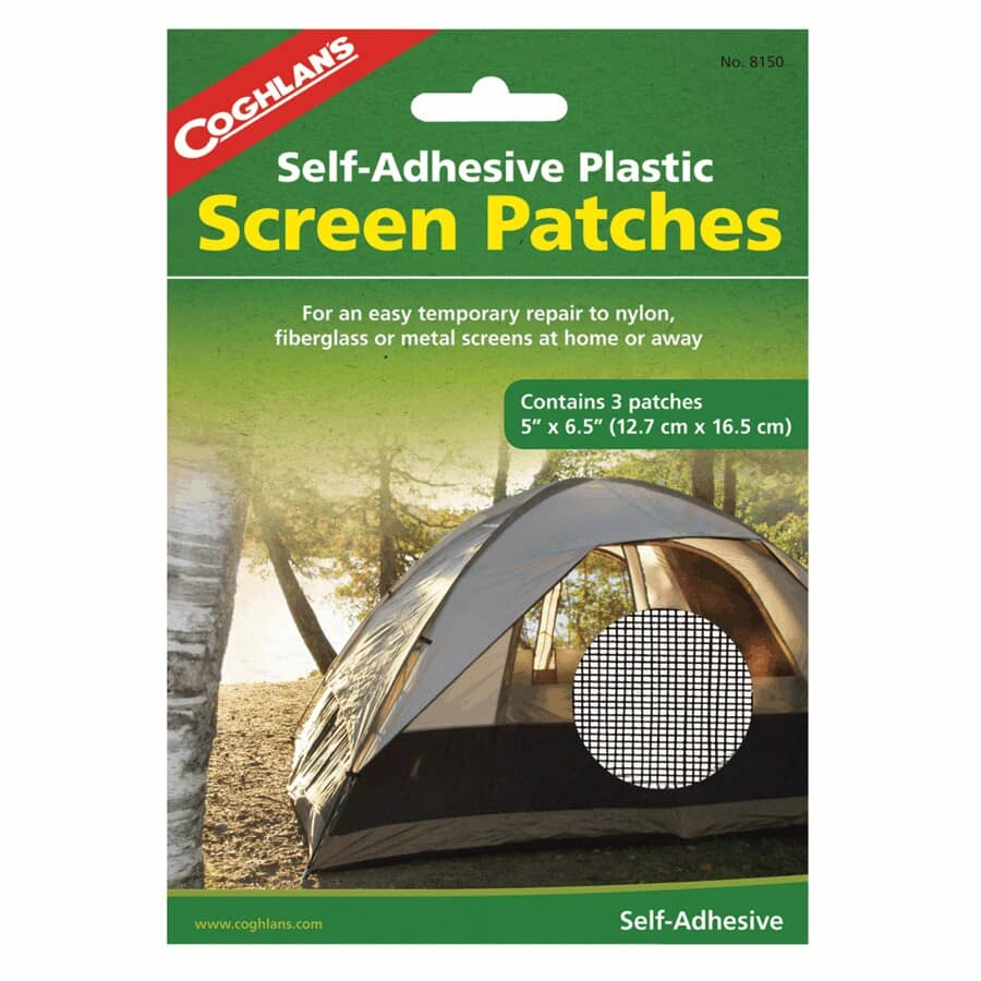"""COGHLAN'S:3 Piece 5"""" x 6-1/2"""" Screen Patches"""