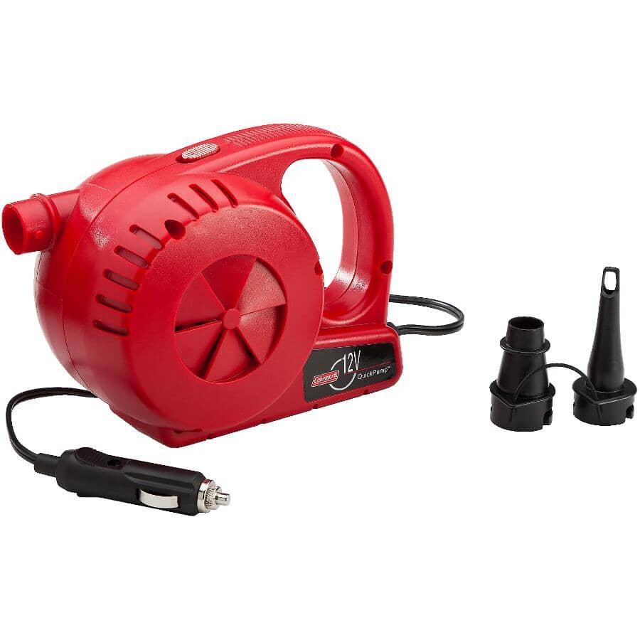 COLEMAN:12 Volt Quick Pump