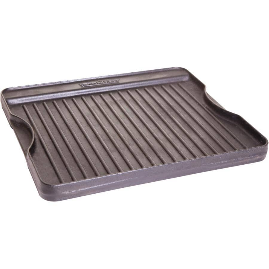 """CAMP CHEF:16"""" x 14"""" Cast Iron Campstove Griddle"""