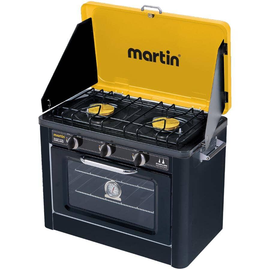 MARTIN:14,600 BTU Propane Oven and Stove Combo