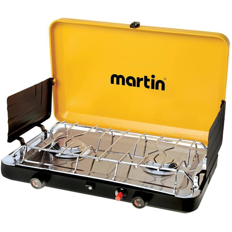 MARTIN:20,000 BTU Stainless Steel Propane Stove