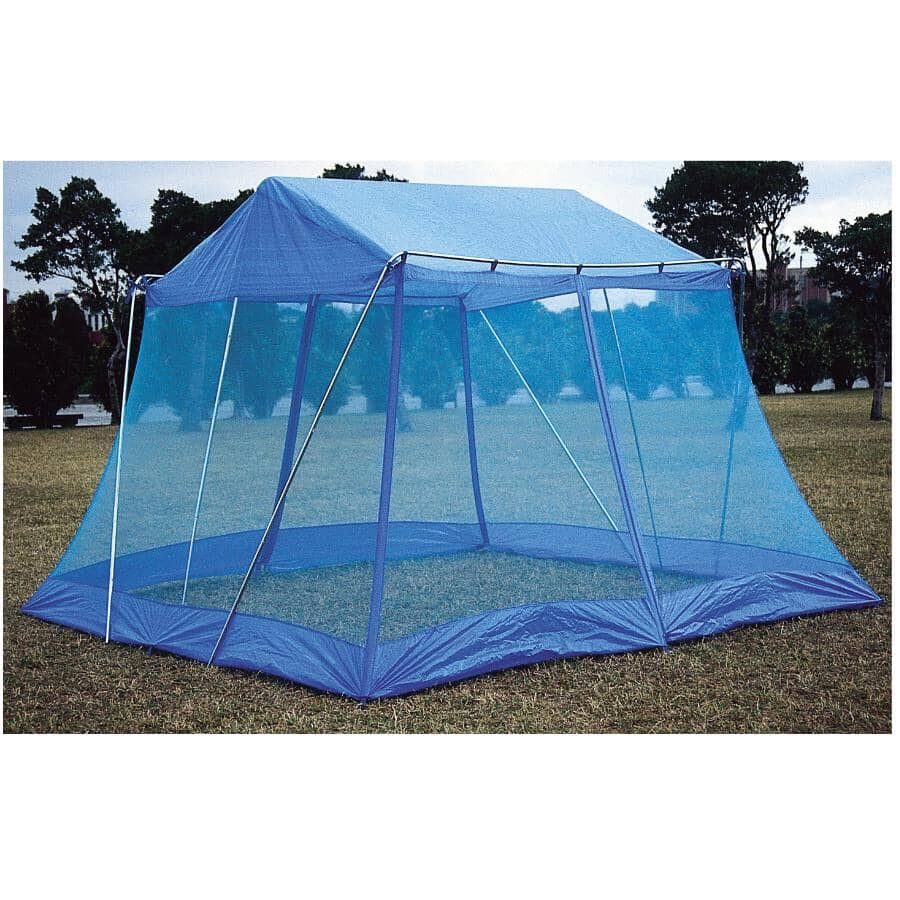 WORLD FAMOUS:12' x 12' x 8' Screen House, with Bag