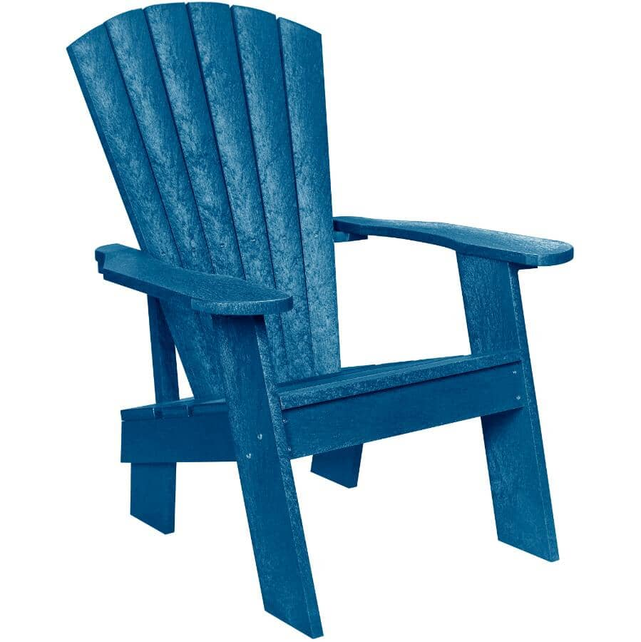 CAPTERRA:Pacific Blue Recycled Plastic Adirondack Chair
