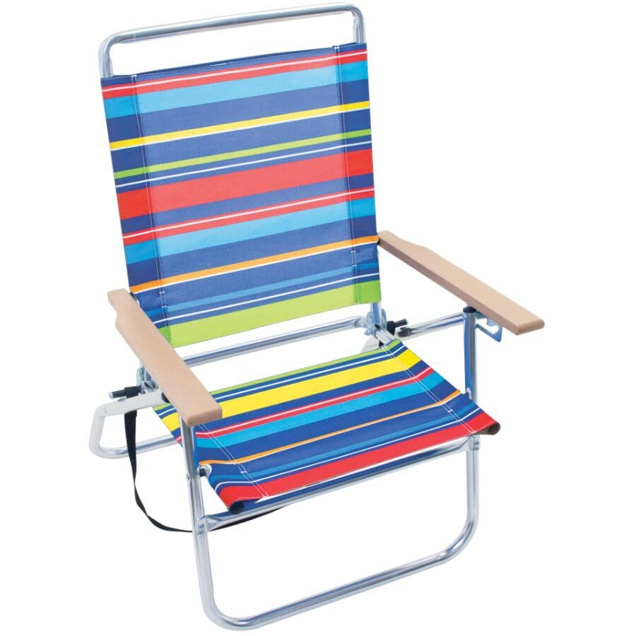 RIO BRANDS:3 Position Aluminum Beach Chair