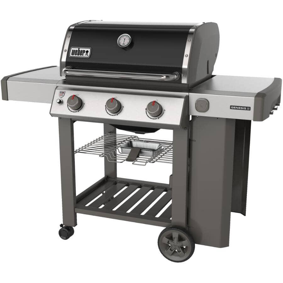 WEBER:Genesis II E-310 Black Propane BBQ - 3 Burner