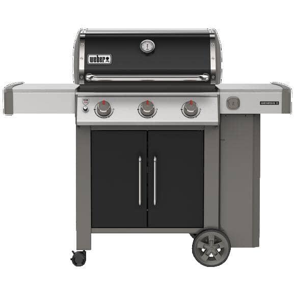 WEBER:Genesis II E-315 Black Propane BBQ - 3 Burner