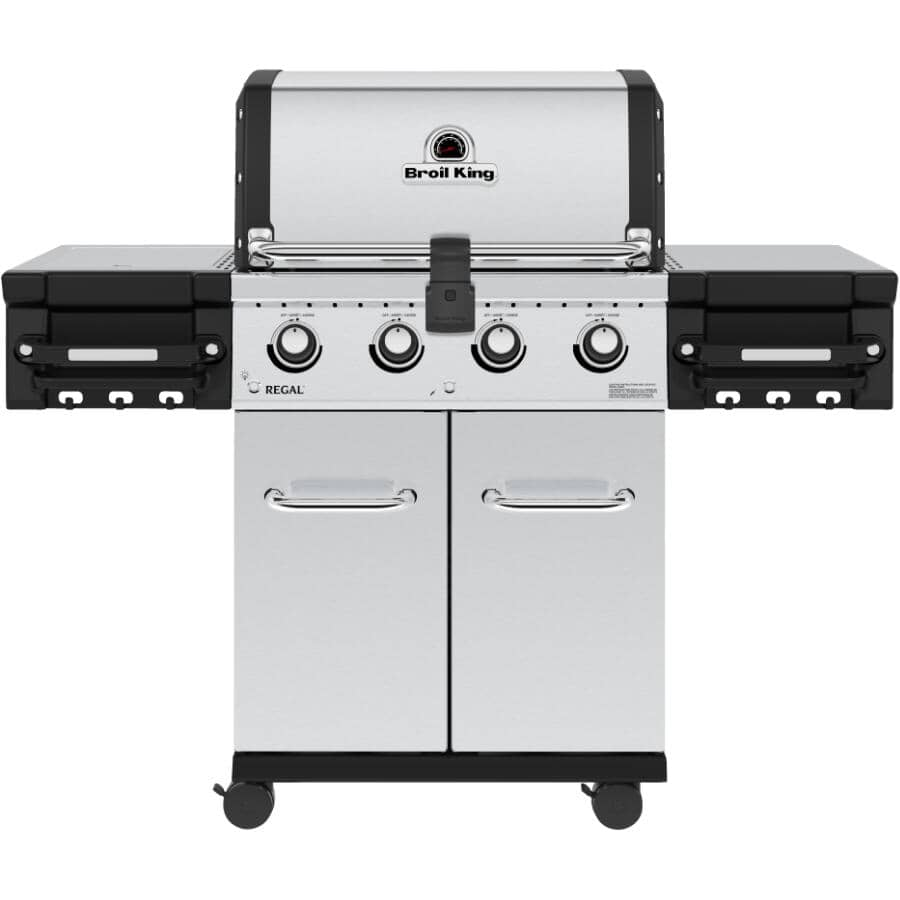 BROIL KING:Regal S420 Pro Stainless Steel Natural Gas BBQ - 4 Burner