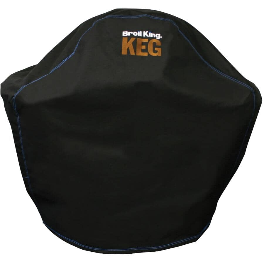 BROIL KING:Black PVC/Poly Barbeque Cover