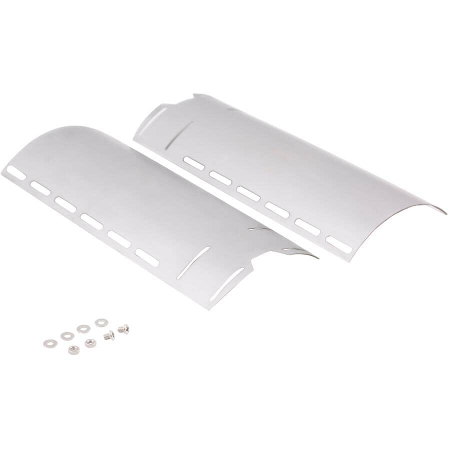 """GRILLPRO:Adjustable Universal Heat Plate - Stainless Steel, 12"""" - 18"""""""