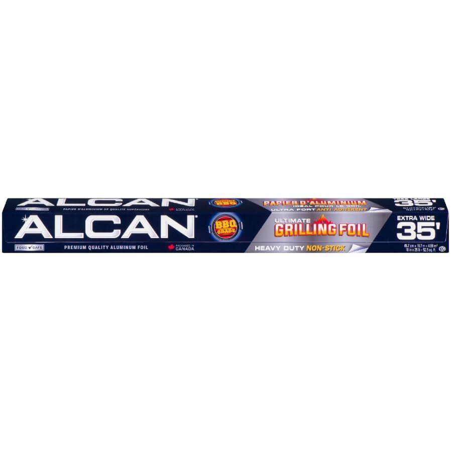 """ALCAN:Non Stick BBQ Aluminum Foil - 18"""" x 35'"""
