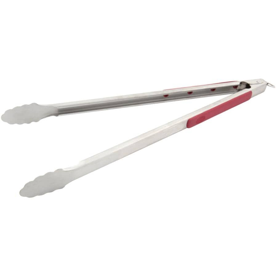 """GRILLPRO:Extra Long BBQ Tongs - Stainless Steel, 20"""""""