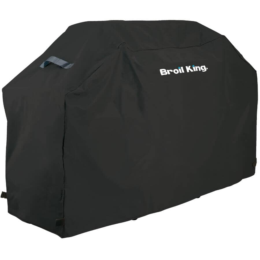 """BROIL KING:64"""" x 23"""" x 45.5"""" PVC Select Barbecue Cover, with Polyester Backing"""