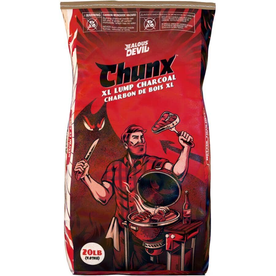 JEALOUS DEVIL:Chunx XL Lump Charcoal - 9.07 kg