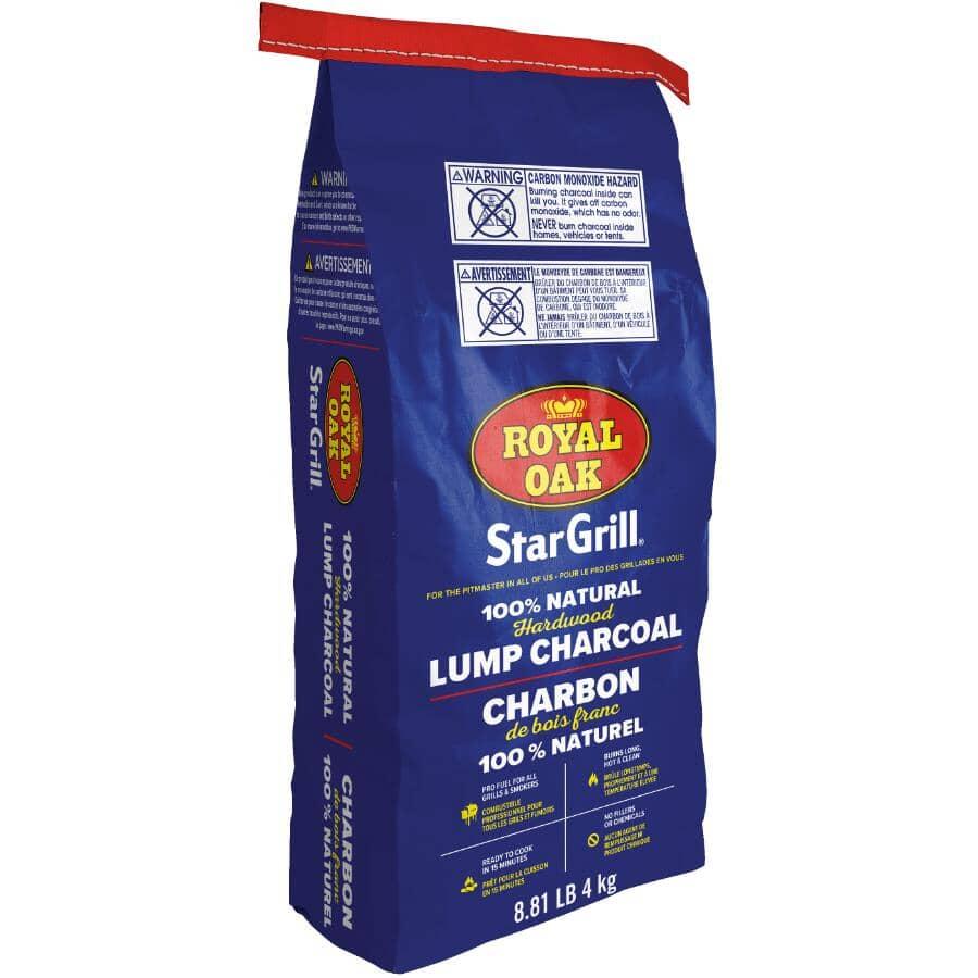 ROYAL OAK:Star Grill Lump Charcoal - 4 kg
